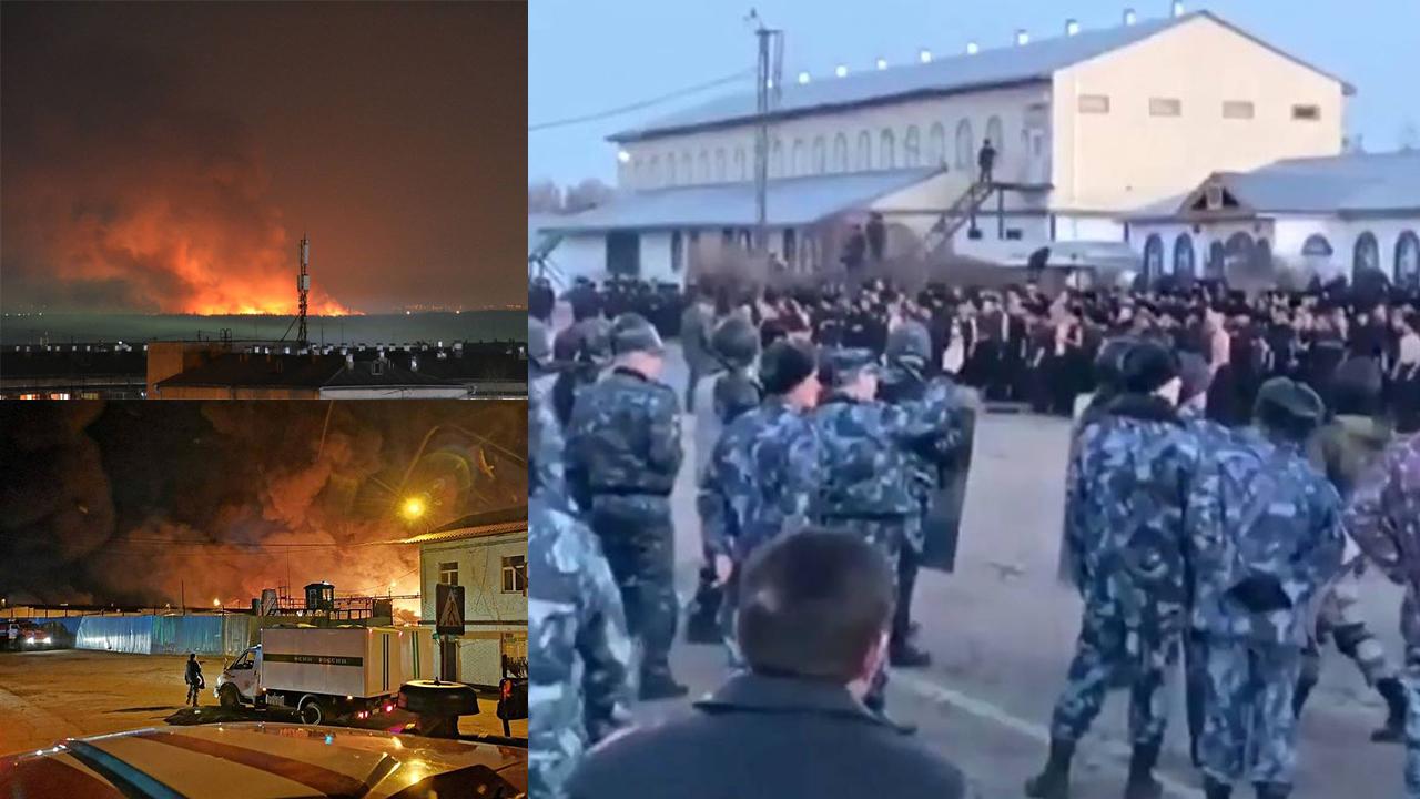 ไฟไหม้เรือนจำรัสเซีย นักโทษวางเพลิง ก่อจลาจล ทำร้ายผู้คุม
