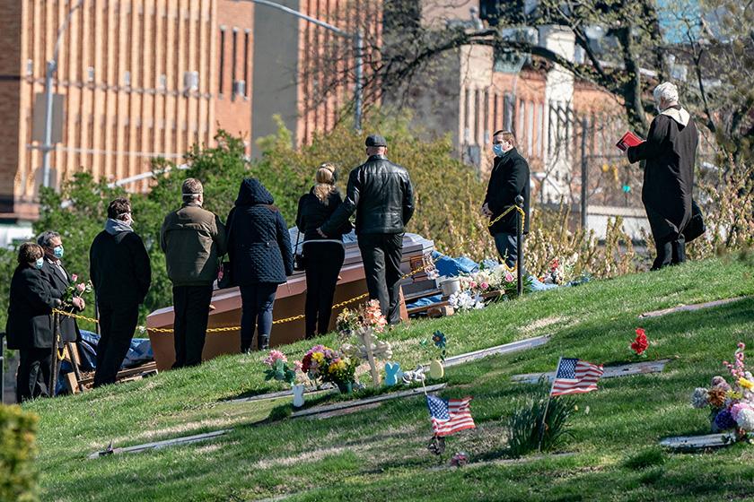 โควิด:สหรัฐยอดตายแซงอิตาลี ทะลุ2หมื่นศพ สูงสุดในโลก