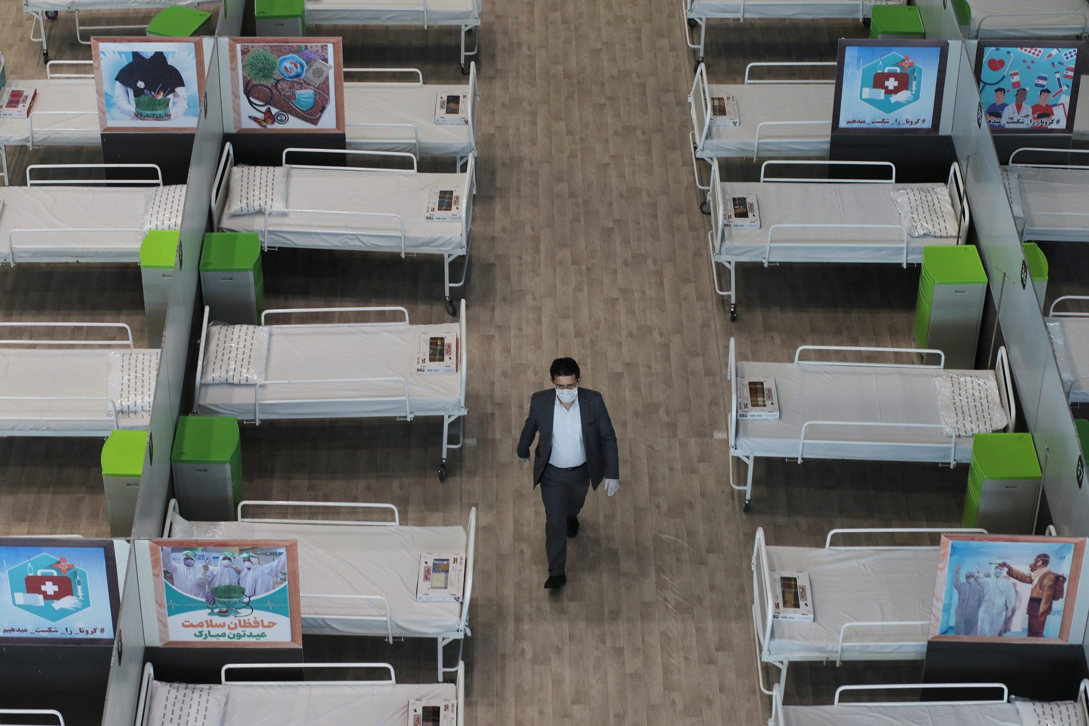 อิหร่าน ยังสาหัส มีผู้เสียชีวิตจาก โควิด-19 วันเดียวเพิ่มขึ้น 117 ราย