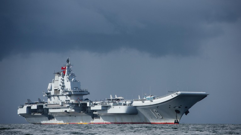 จีนโวโควิดอยู่หมัด แล่นกองเรือบลั๊ฟ ฟุ้งงานดีกว่าทัพสหรัฐติดงอมแงม