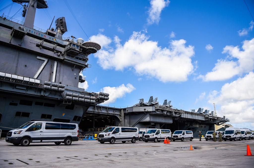 โควิด:ลูกเรือทัพสหรัฐติดเชื้อ600 มีตายแล้ว ตามที่กัปตันหวั่นใจ