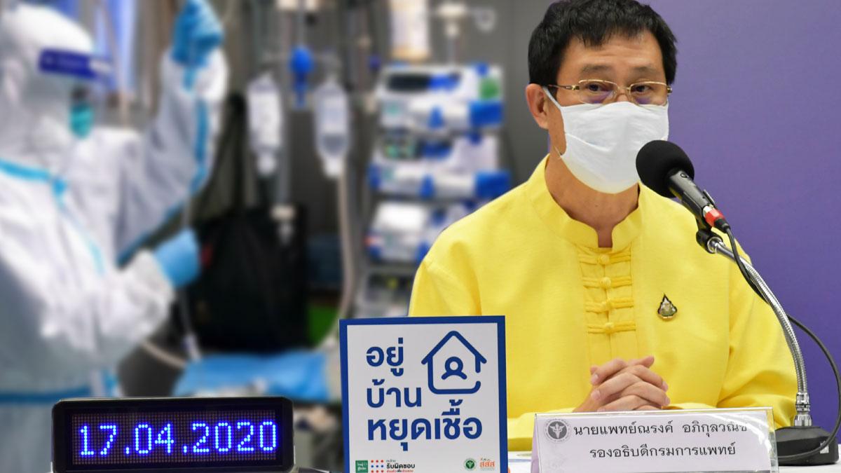 สธ.โชว์ไทยอัตราหายป่วยโควิด สูง 62% ทีมแพทย์ติดเชื้อ 99 คนแล้ว เหตุปิดประวัติ