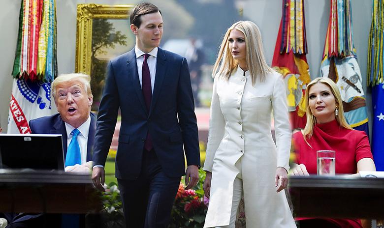 โควิด:ลูกสาวทรัมป์ ฝ่าล็อกดาวน์ ลูกเขยก็ด้วย สื่อจี้ให้ไล่ออก