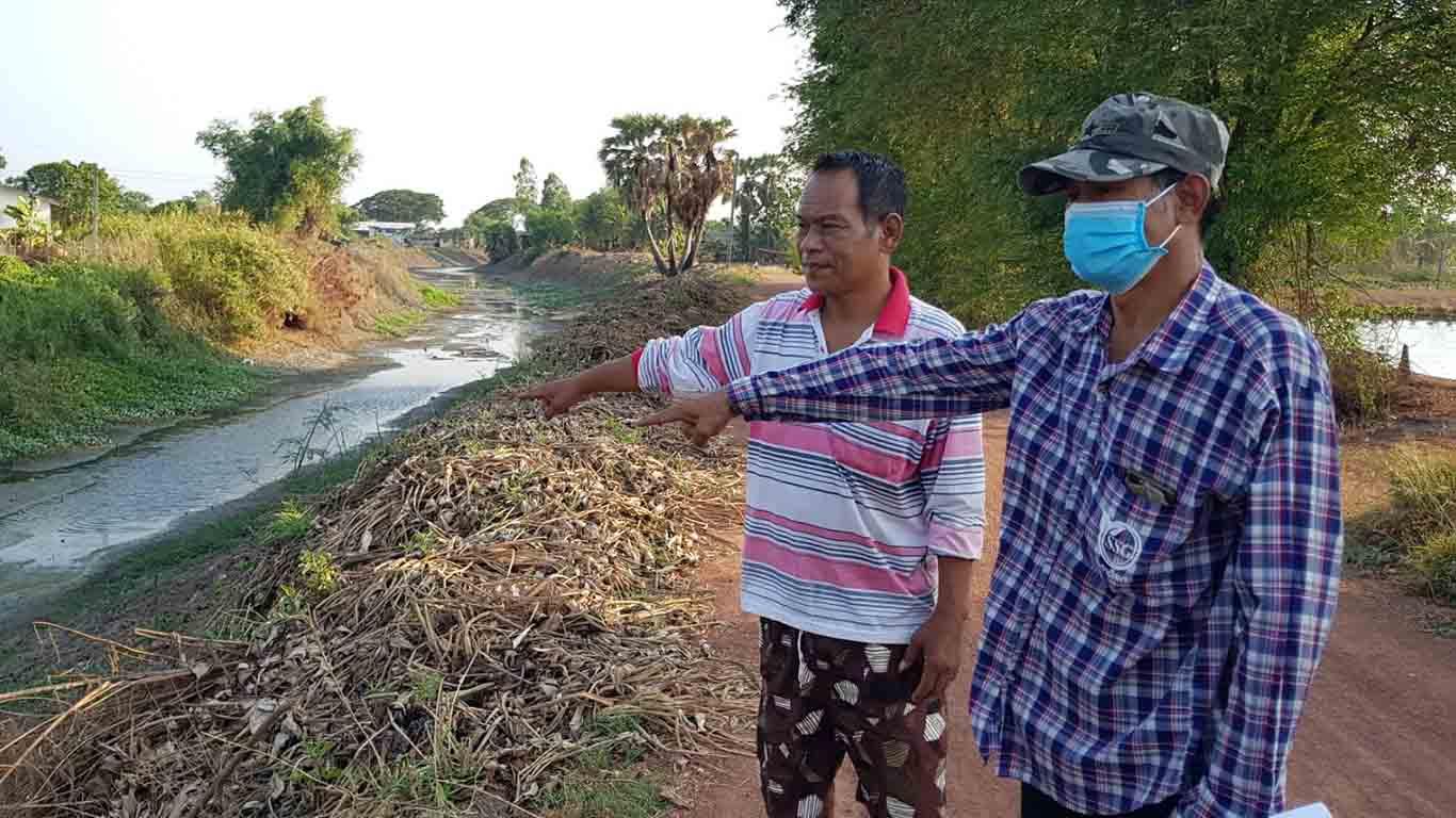 ชาวบ้านโอดครวญน้ำแล้ง มีน้ำก็เน่าเสียใช้การไม่ได้