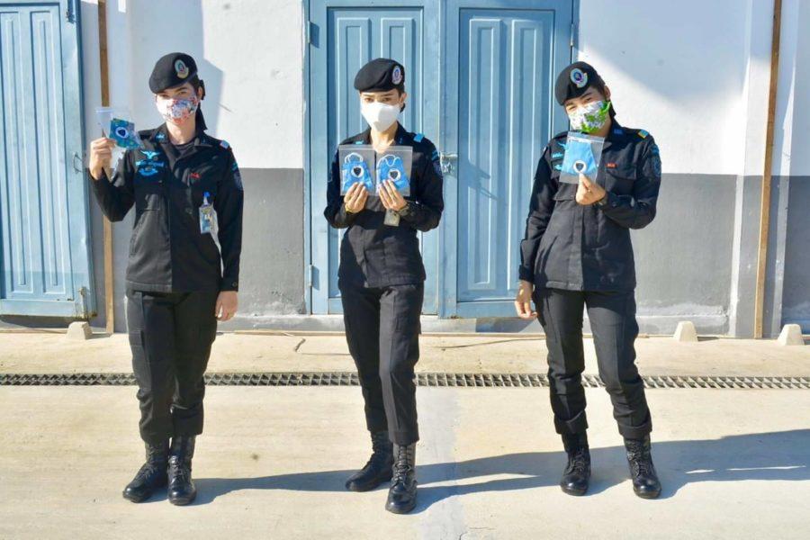 ทหารพราน 48 เร่งผลิตหน้ากากอนามัยล็อตสองเตรียมนำไปแจกจ่ายให้ประชาชน