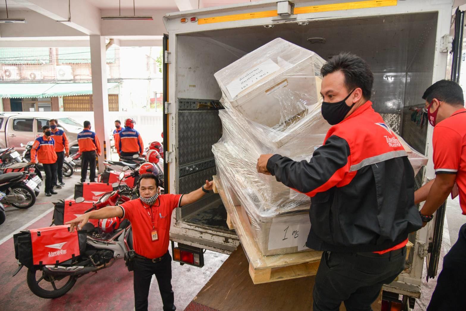 'ไปรษณีย์ไทย' จับมือรัฐ-เอกชน พาคนไทยสู้วิกฤติโควิด-19