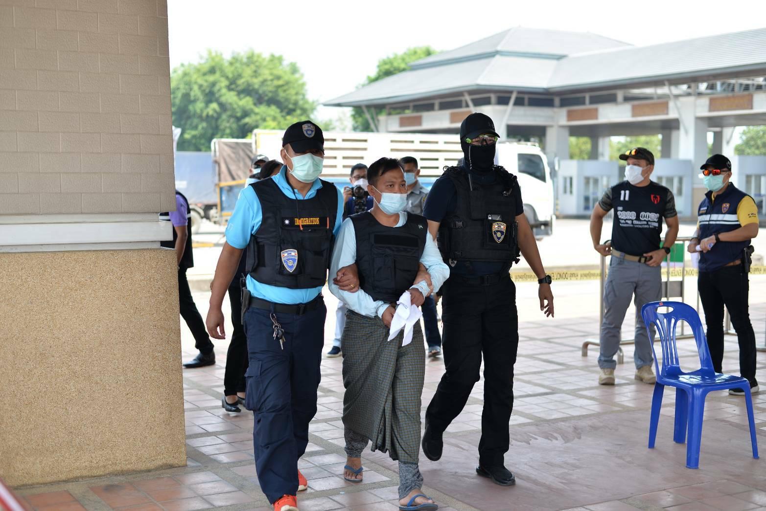 เมียนมาส่งผู้ต้องหาไทยพ้นโทษจากเมืองตองจี เตรียมรับโทษหมายศาลไทยต่อ