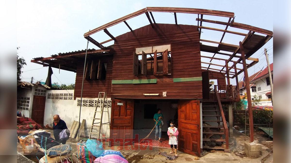 เชียงรายหนัก พายุลูกเห็บ ถล่มยับ 4 อำเภอ ชุมชนริมโขงบ้านพังอื้อ