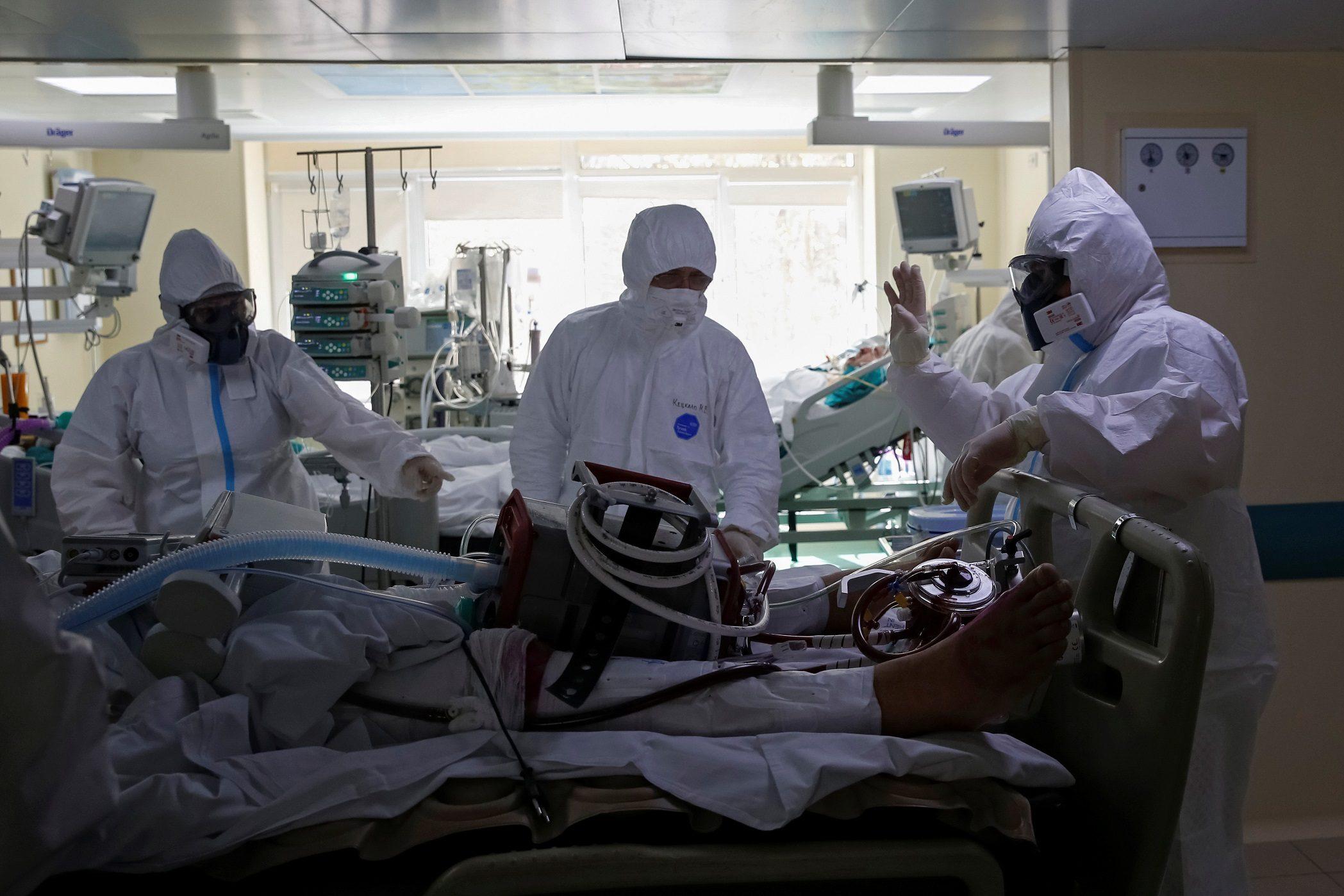 รัสเซียทำสถิติใหม่ วันเดียวป่วยโควิด-19 เพิ่มขึ้นกว่าหมื่นราย