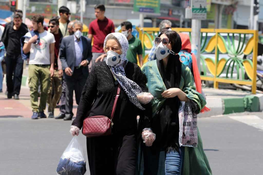 อิหร่านพบผู้ติดเชื้อรายใหม่มากกว่า 1,500 คน