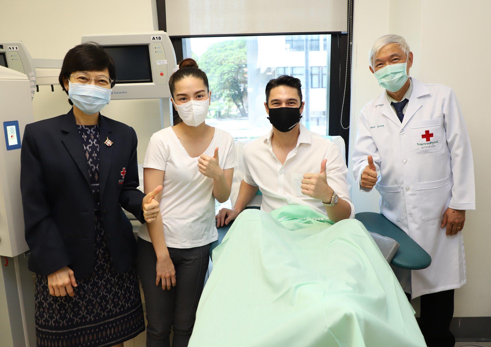 สภากาชาดไทย ขอรับบริจาคพลาสมา ช่วยเหลือ ผู้ป่วยโควิด-19