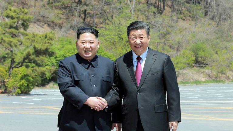 มิตรรักดุจสินทรัพย์ล้ำค่า สีจิ้นผิงส่งสารคิมจองอึน ยินดี 72 ปีเกาหลีเหนือ