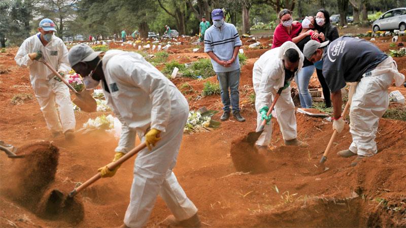 โควิด: ทั่วโลกป่วยพุ่ง 4.5 ล้านคน เซ่นเฉียด 298,000 ราย บราซิลวันเดียวติดเชื้อทะลุ 11,500 คน