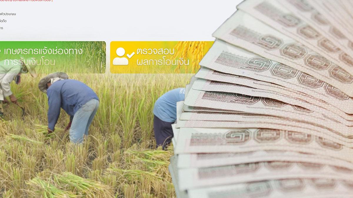เช็กด่วน! ธ.ก.ส. เริ่มโอนเงิน เยียวยาเกษตรกร 5,000 บาทแล้ววันนี้