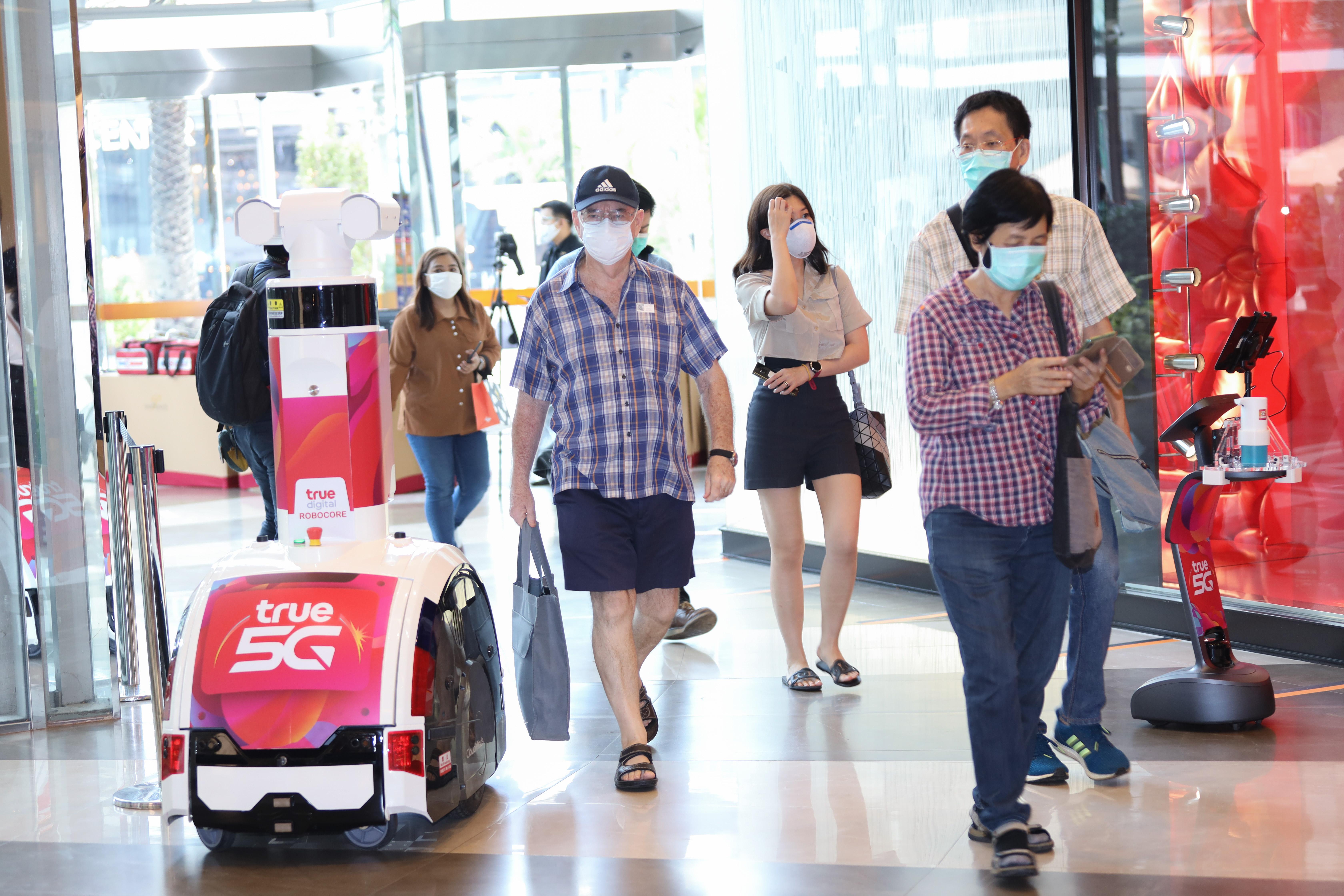 TRUE 5G World of Retail วัตกรรมเทคโนโลยีอัจฉริยะรูปแบบใหม่ ก้าวเข้าสู่โลกยุค new normal หลังโควิด-19