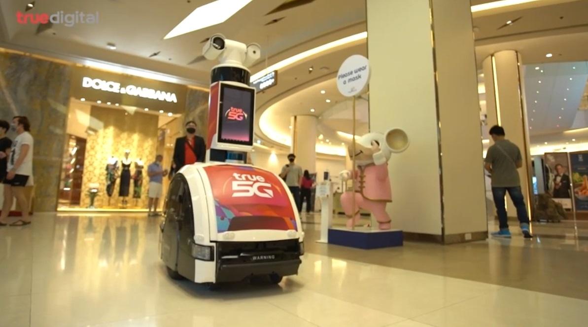 """""""ทรู ดิจิทัล"""" เปิดตัวหุ่นยนต์ครบวงจรตอบโจทย์ธุรกิจเชิงพาณิชย์"""