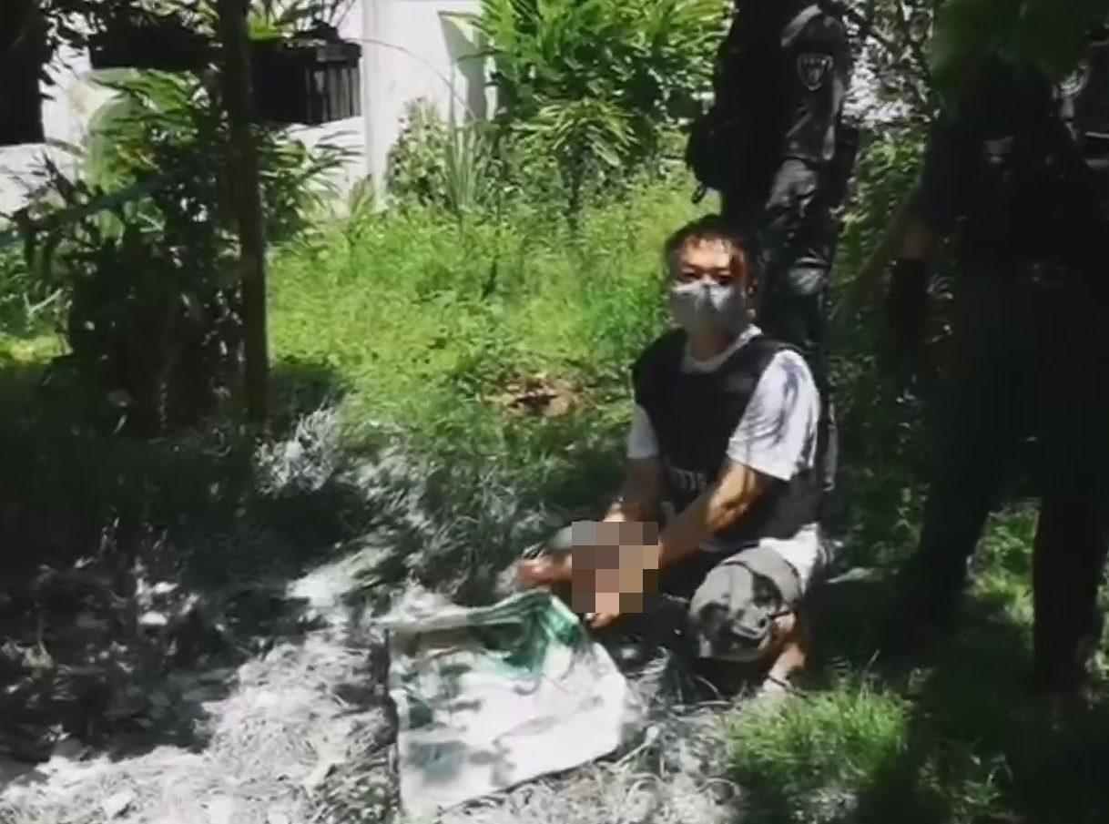 แรงหึงปมฆ่าโหดหม้ายสาว-หนุ่มใหญ่ห่อถุงขยะหมกศพสวนหลังบ้าน