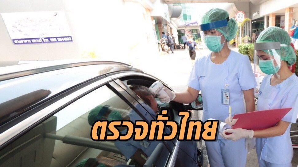 ศบค.ตั้งเป้า ตรวจ 'โควิด-19' ทั่วไทยเพิ่มให้ได้กว่า 1 แสนราย