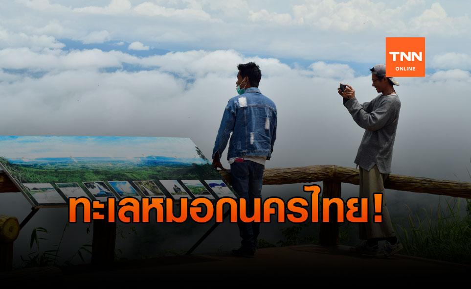 ชมทะเลหมอกหลังฝนตก ปกคลุม อ.นครไทย