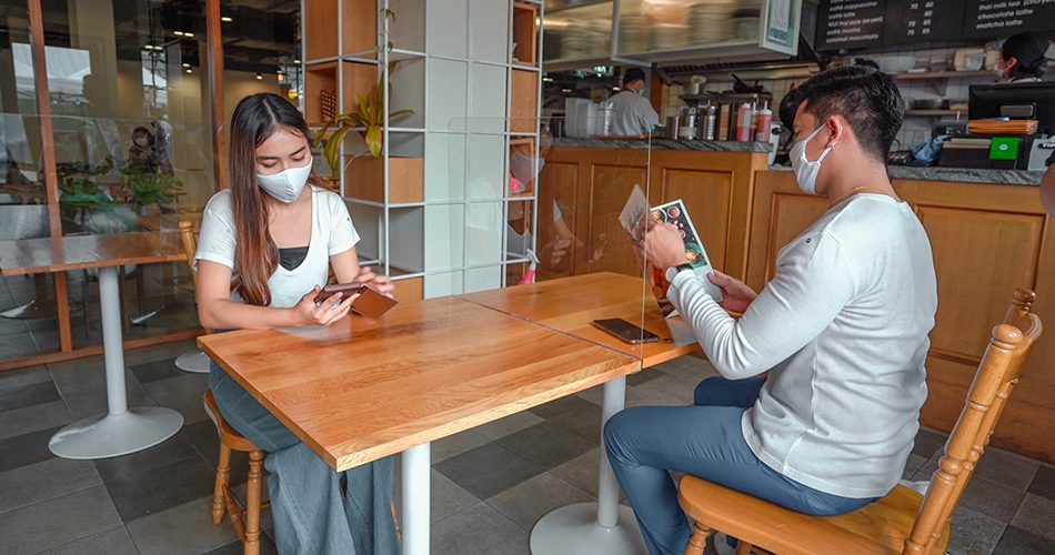 'ส.ร้านอาหาร' โอดมาตรการโซเชียล ดิสแทนซิ่ง ทำรายจ่ายพุ่ง รายได้ลด