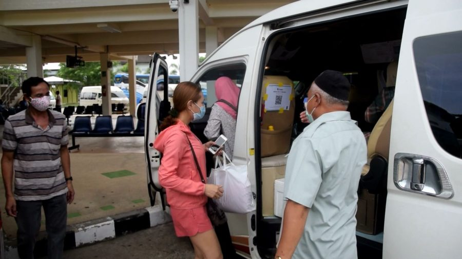 รถตู้โอดวิ่งไม่คุ้มทุนแถมเสี่ยงกับผู้โดยสารติดเชื้อโควิด