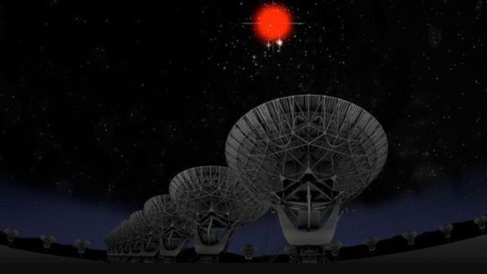 พบสัญญาณวิทยุพลังสูงปะทุจากห้วงอวกาศลึกทุก 157 วัน
