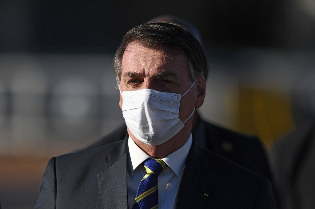 ปธน.บราซิลยื่นอุทธรณ์ ค้านศาลสั่งสวมหน้ากากป้องกันโควิด
