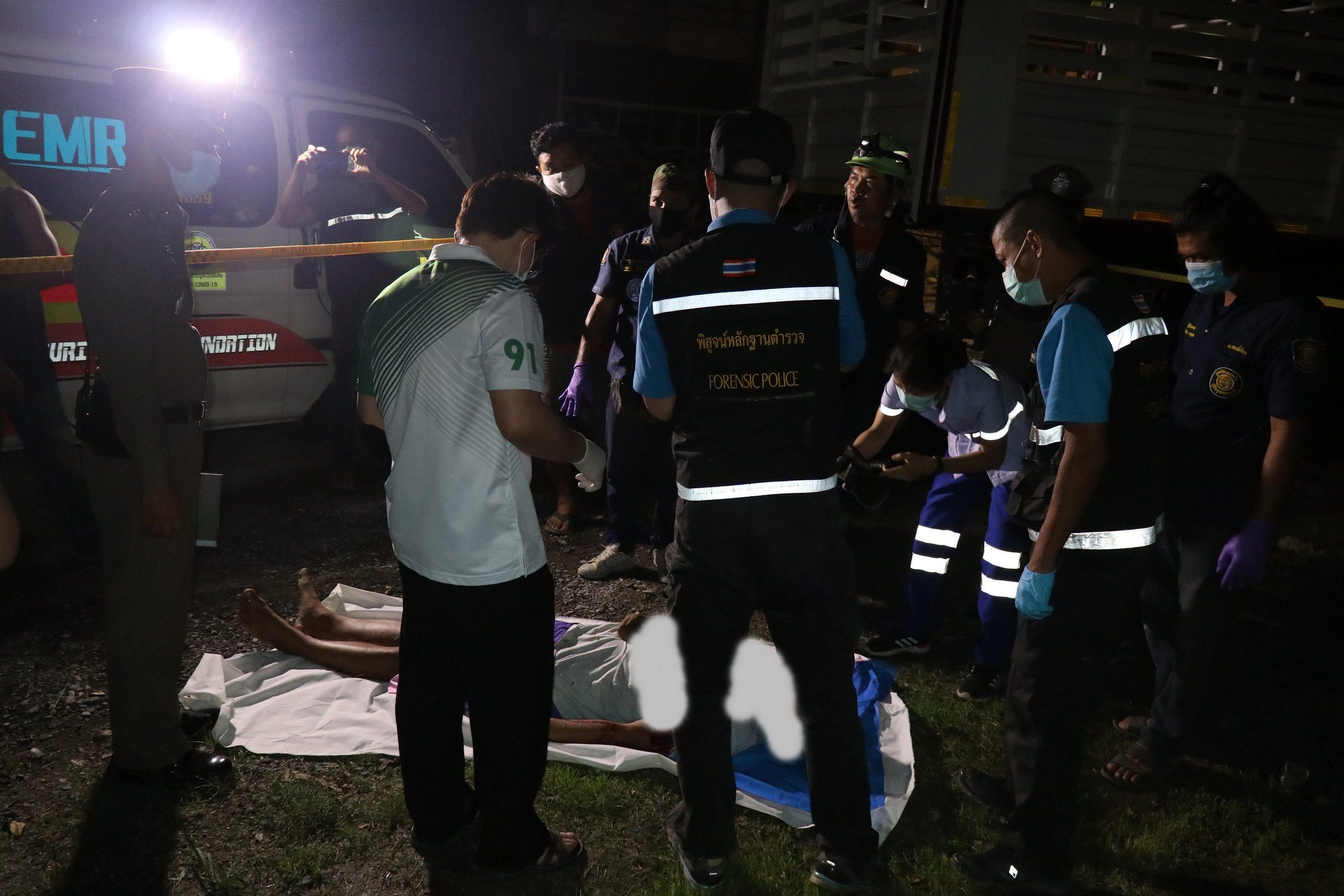 สารวัตรกำนันเมืองขุนแผนปืนดุยิงลูกเลี้ยงคลั่งยาดับคาบ้าน
