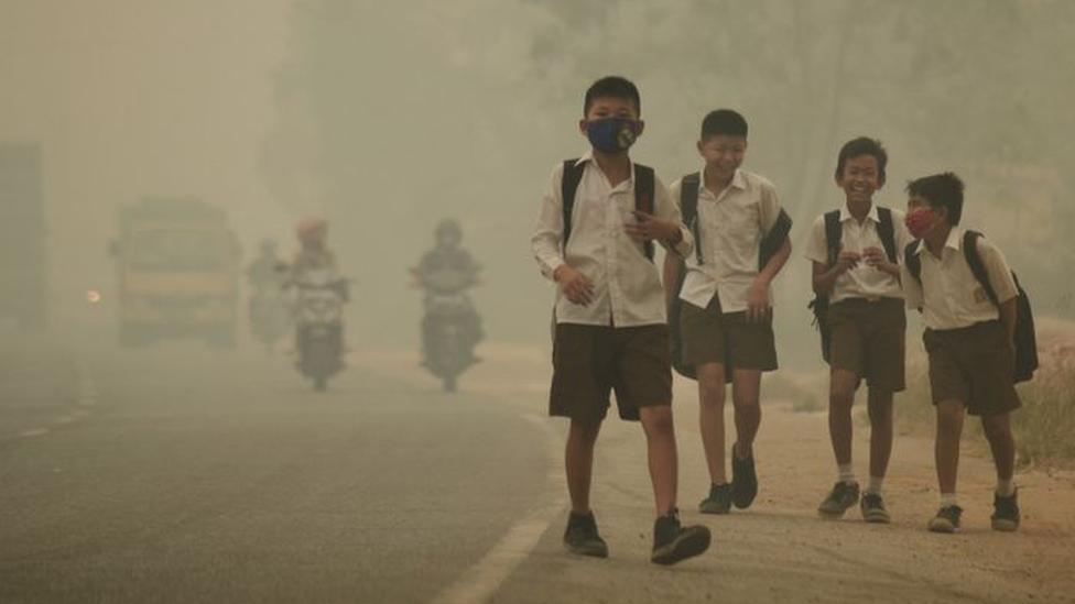 ประชากรกว่าครึ่งของโลกอยู่ในพื้นที่มีมลพิษทางอากาศรุนแรงขึ้นทุกขณะ