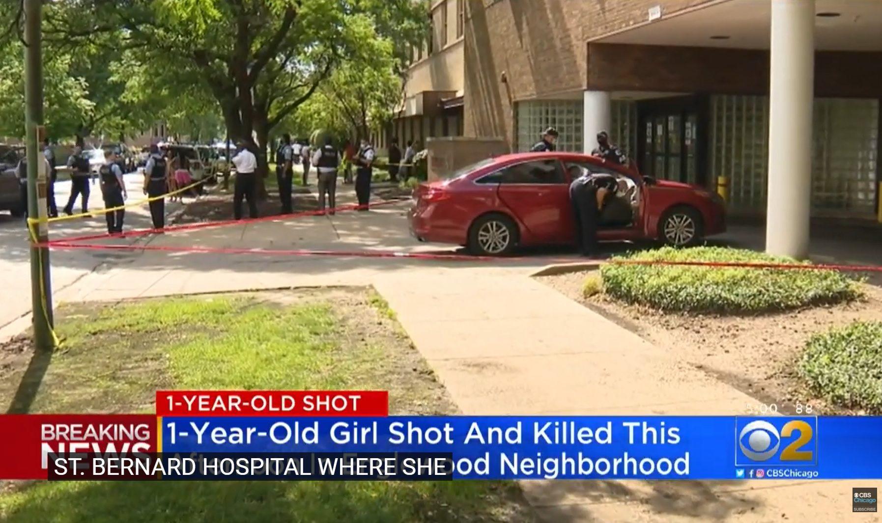 สลด! เด็ก 1 ขวบ ถูกมือปืนขับรถยิงตายที่ชิคาโก