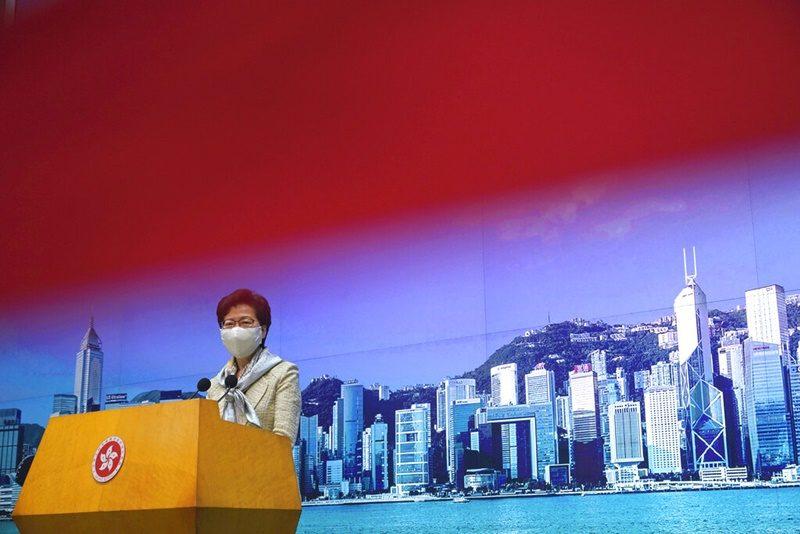 จีนผ่านร่างกฎหมายความมั่นคงแห่งชาติในฮ่องกง