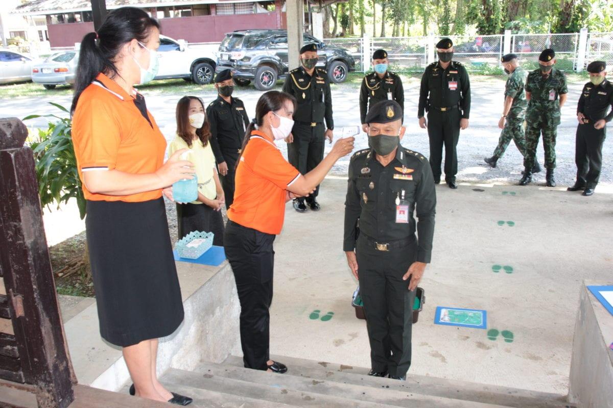 ตรวจความพร้อม โรงเรียนกองทัพบกอุปถัมภ์บริบูรณ์ธนวัฒน์ ค่ายเม็งรายมหาราช