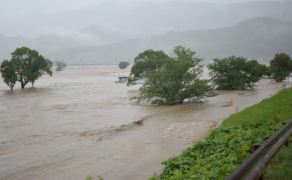ญี่ปุ่นอ่วม! ฝนถล่มหนัก ดับ 2 ศพ เร่งอพยพปชช.กว่า 7 หมื่นหนีน้ำ
