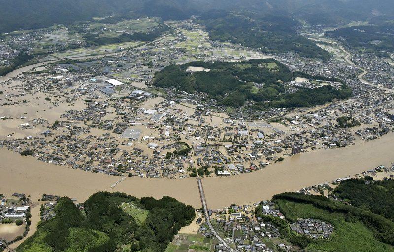 14 ศพบ้านพักคนชราญี่ปุ่น เหยื่อฝนกระหน่ำ-น้ำท่วมคุมาโมโตะ มหาภัยพิบัติธรรมชาติ