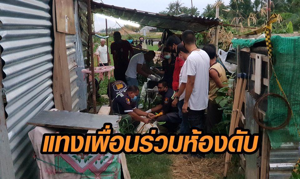 คนงานพม่าฉุนเพื่อนชาติเดียวกัน ชอบนอนเปิดไฟ ก่อนเกิดเหตุดื่มเบียร์จนเมา ด่าจนโมโห คว้ามีดแทงดับ