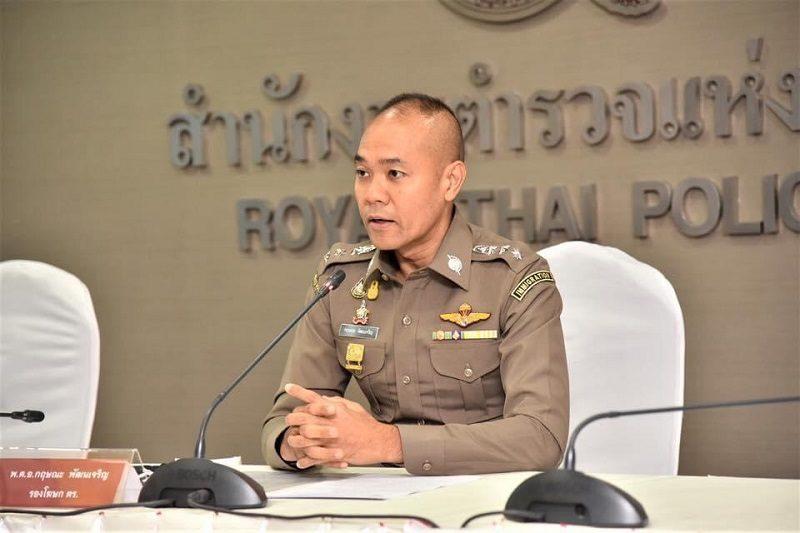 รองโฆษก ตร. อธิบายขั้นตอนปฏิบัติ เดินทางเข้าประเทศไทย ป้องกันโควิด-19