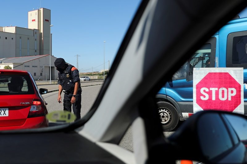 สเปนสั่งล็อกดาวน์เมืองในแคว้นกาลิเซีย หลังพบผู้ป่วยโควิดเพิ่มขึ้น