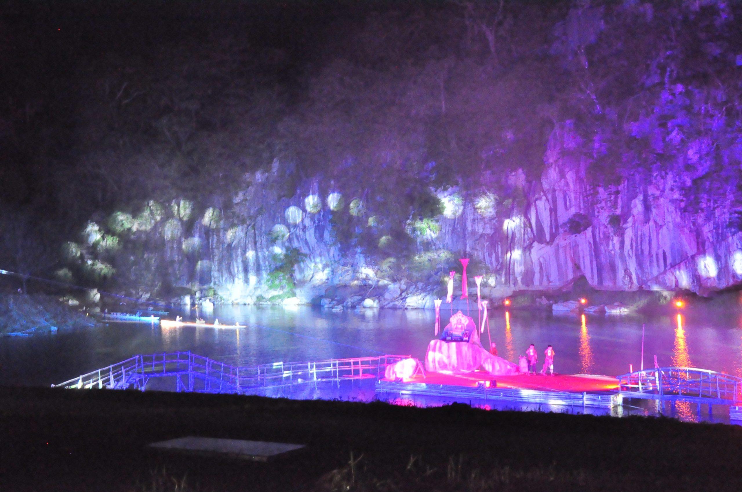 หนองบัวลำภูจัดงานแสดงแสง สี เสียง ย้อนตำนานนครเขื่อนขันธ์กาบแก้วบัวบาน หยุดยาวเข้าพรรษา