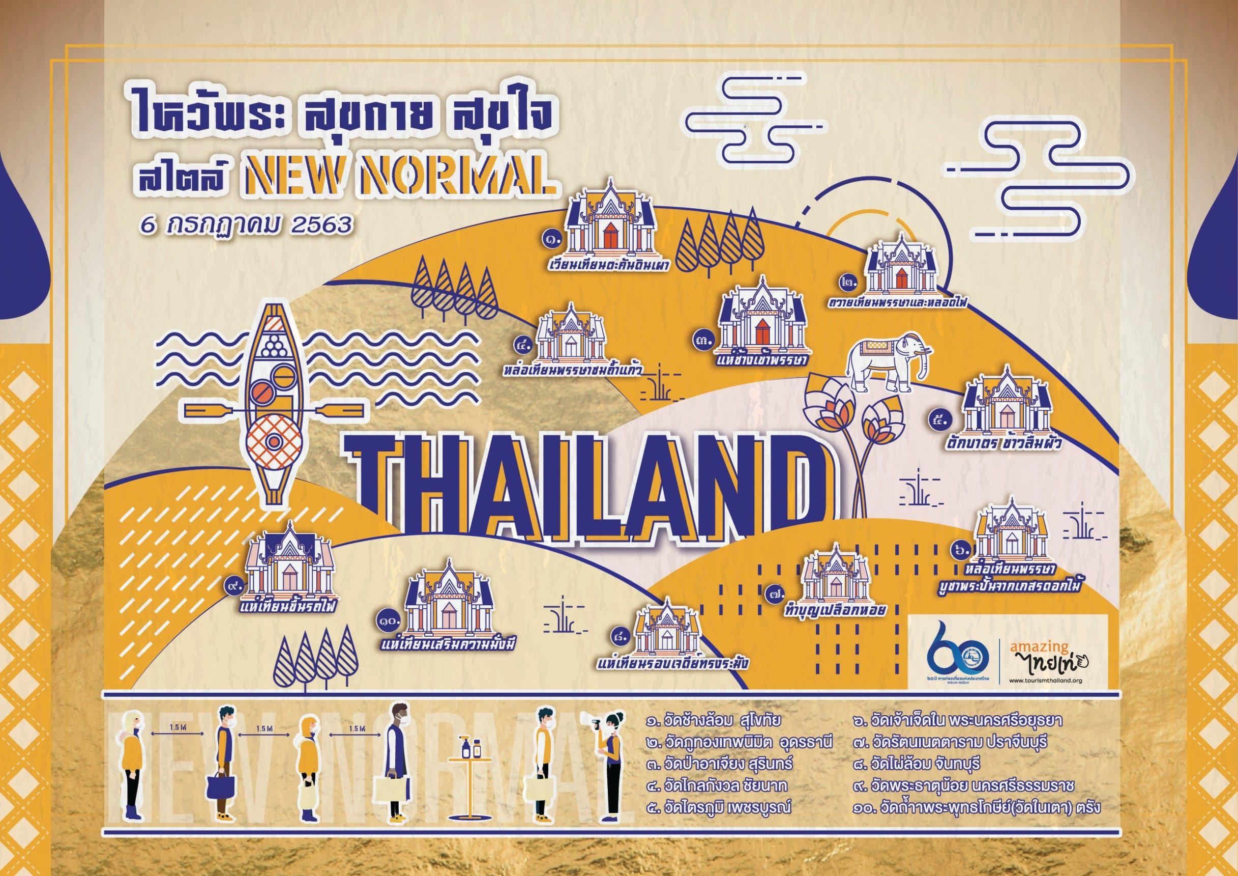 'ททท.' เปิดแคมเปญทำบุญทั่วไทย รับวันเข้าพรรษา