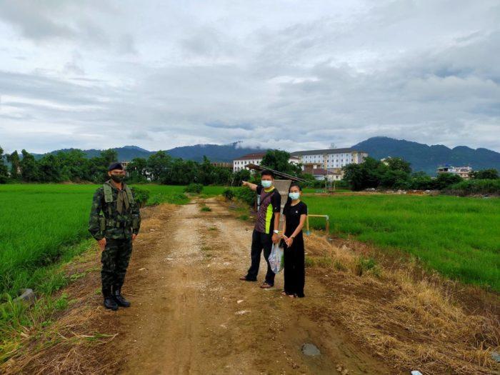 จับ 2 คนไทย เดินข้ามแม่น้ำฝั่งพม่าเข้าไทย อ้างจ่ายเงิน 3 พันบาท
