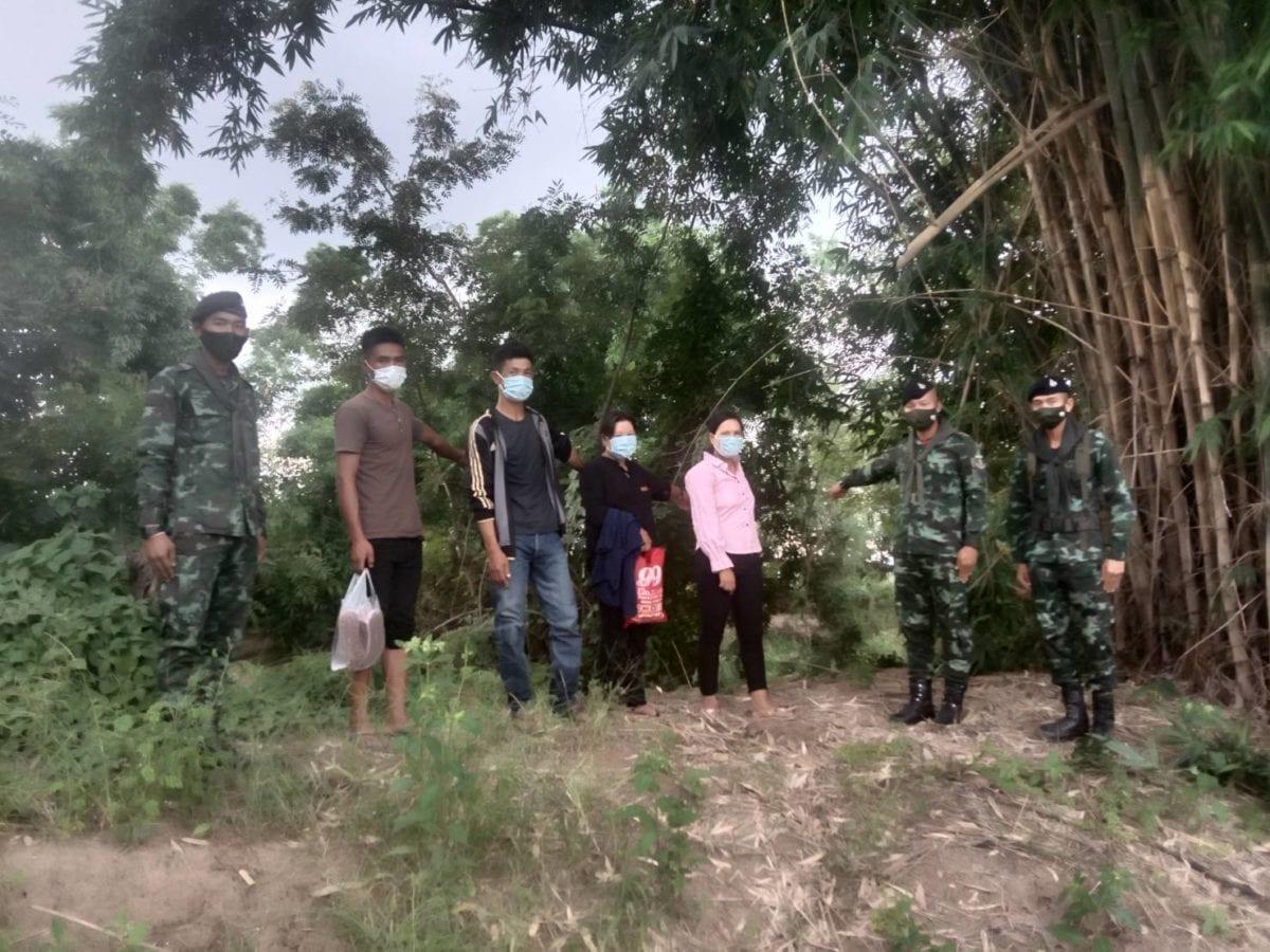 ทหารม้าจับ 6 เมียนมา ริมแม่น้ำสาย