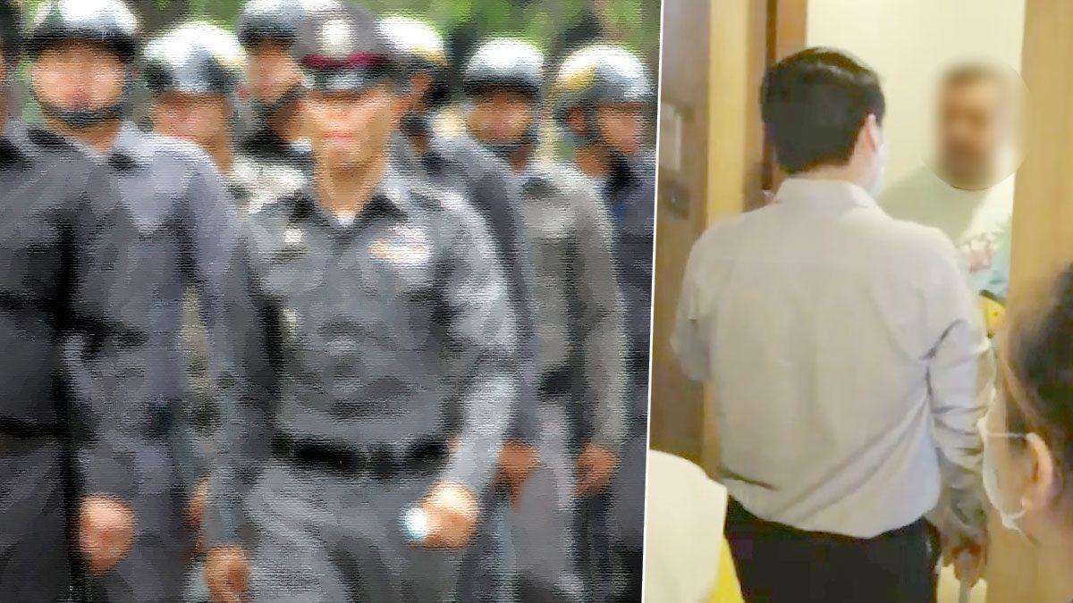 ด่วน! สั่งกักตัวตำรวจ 6 นาย เข้าไปร่วมตรวจทหารอียิปต์ติดโควิด