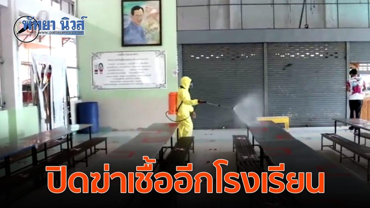 รร.อนุบาลบ้านเตาถ่าน ปิดโรงเรียน 2 วัน พ่นยาฆ่าเชื้อป้องกันโควิด19