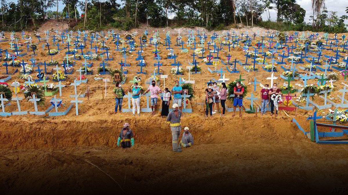 พุ่งไม่หยุด! สหรัฐติดโควิดทะลุ 3.9 ล้านคน บราซิลตายเกลื่อน 8 หมื่นศพ