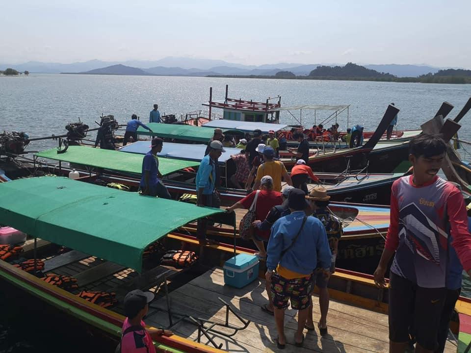 ระนอง คุมเข้มโป๊ะ ท่าเทียบเรือ เรือข้ามฟากป้องกันอุบัติเหตุทางน้ำช่วงวันหยุดยาว