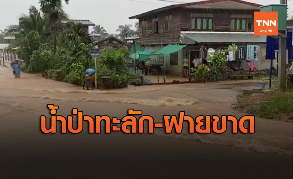 เมืองเลยอ่วม! น้ำป่าทะลัก-ฝายขาด บ้านจมน้ำกว่า 100 หลัง