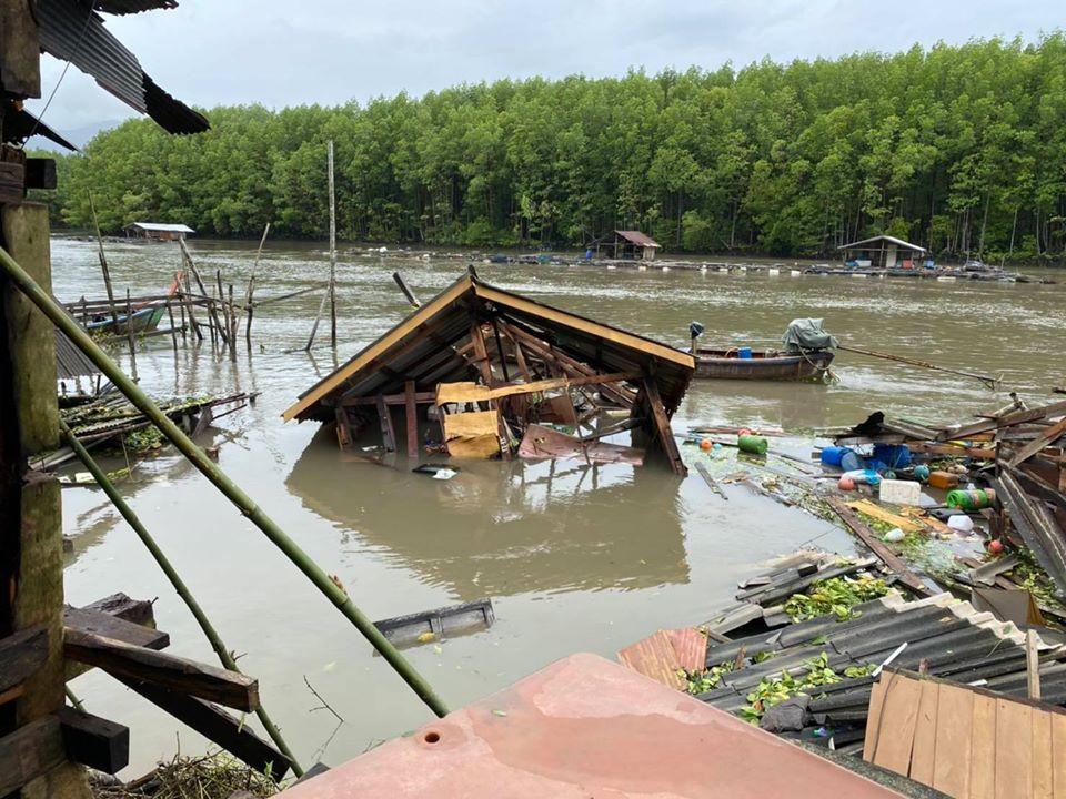 ระนอง เตือนชุมชนพื้นที่เสี่ยง รับมือฝนตกหนัก-ลมแรงต่อเนื่อง 3-4 ส.ค.
