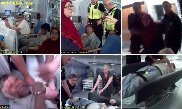 โรงหมออังกฤษเรียกตำรวจ ลากพ่อแม่เฝ้าลูกป่วยวิกฤต ค้านถอดเครื่องช่วยหายใจ