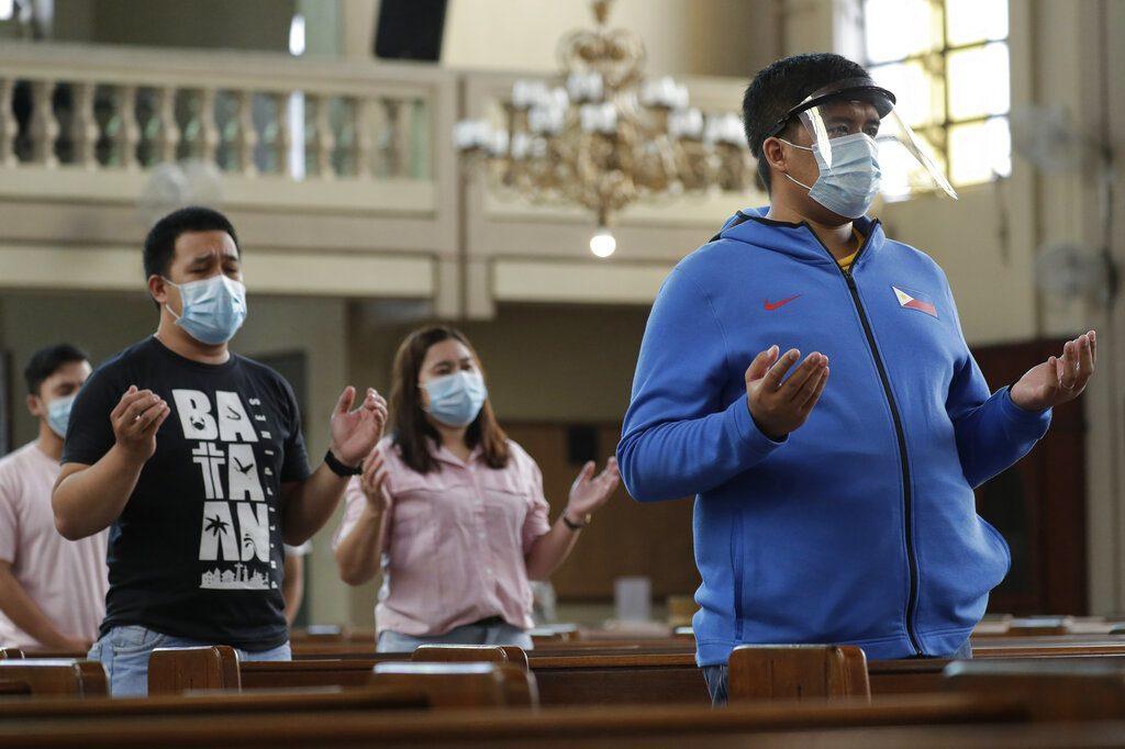 ฟิลิปปินส์ อาการหนัก ป่วยโควิด-19 วันเดียวทะลุ 5 พัน ยอดรวมเกิน 1 แสนรายแล้ว