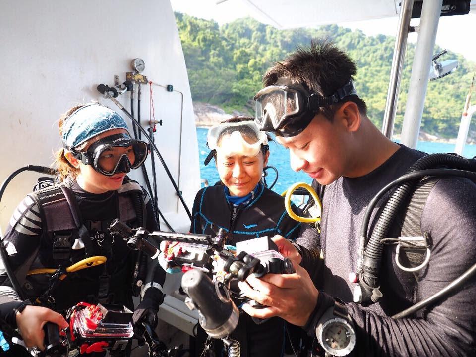 รู้จักอุปกรณ์ดำน้ำ'Scuba Diving' กับ'ดีเจเต๊ป' อาจารย์สอนดำน้ำ